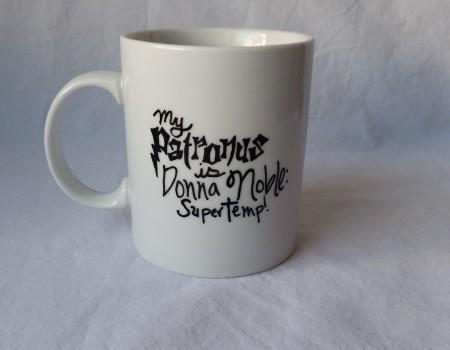 11: Donna Noble Patronus Mug
