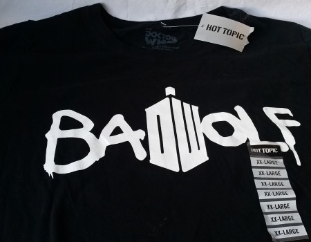 12: Bad Wolf shirt